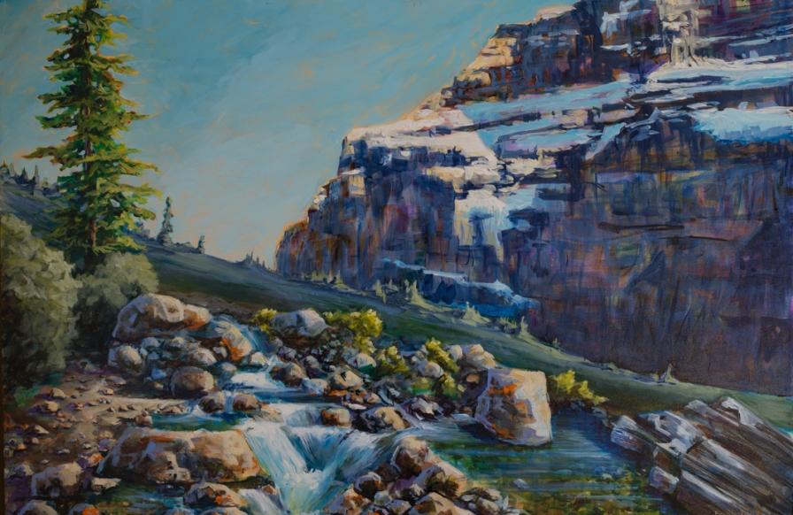 32x48 Acrylic on Canvas $3500